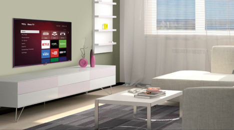 tcl brightens the tv experience with new roku tv color series line zmcommunications. Black Bedroom Furniture Sets. Home Design Ideas